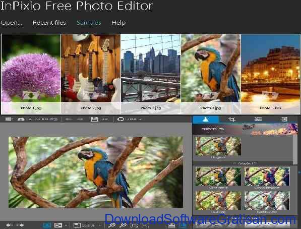 Aplikasi Edit Foto InPixio Photo