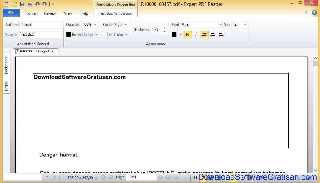 Aplikasi Edit PDF - Expert PDF Reader