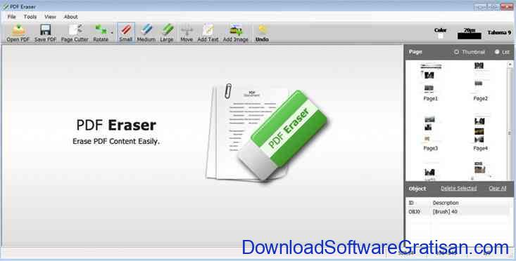 Aplikasi Edit PDF - pdferaser
