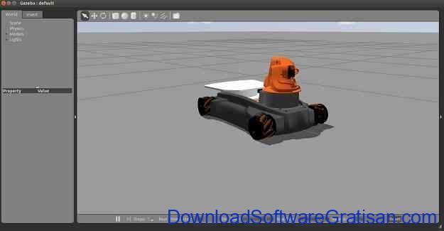 Aplikasi Robotika Gazebo