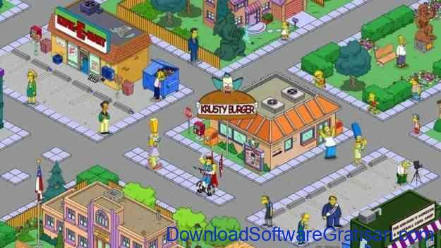 Game Membangun Kota & Desa Terbaik untuk Android - The Simpsons Tapped Out