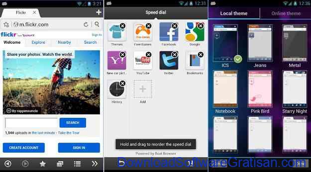 10 Browser Android Gratis Tercepat Boat Browser for Android