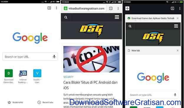 10 Browser Android Gratis Tercepat Chrome