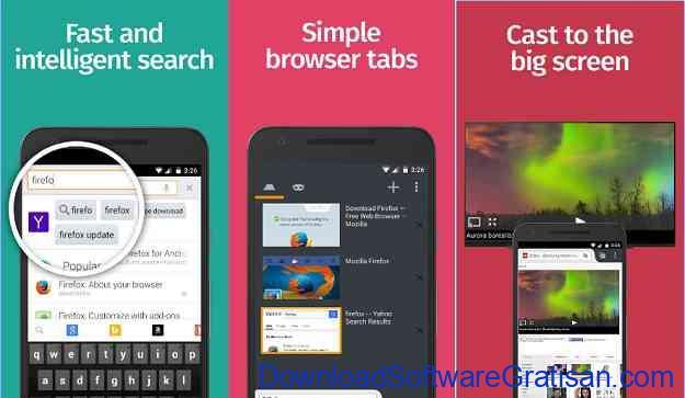 10 Browser Android Gratis Tercepat Firefox