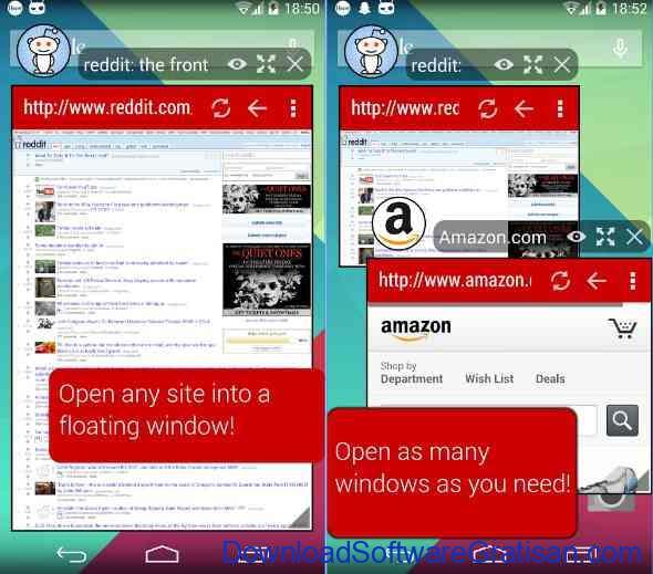 10 Browser Android Gratis Tercepat Hover Browser