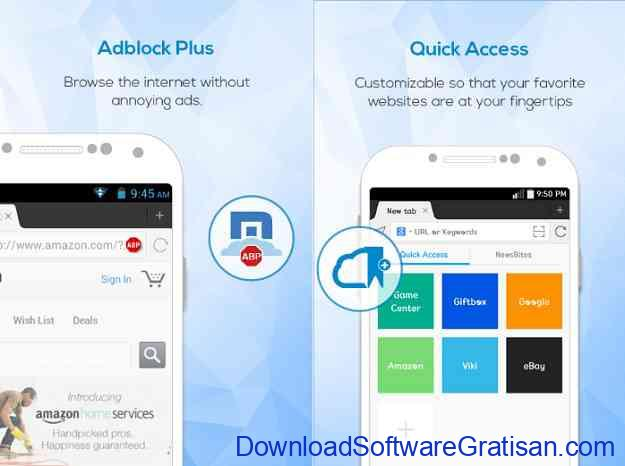 10 Browser Android Gratis Tercepat Maxthon Web Browser