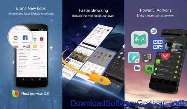 10 Browser Android Gratis Tercepat Next Browser