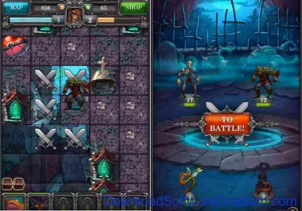 4 Game RPG Android Gratis Terbaik DOE Fights