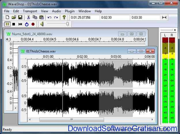 Aplikasi Edit Mp3 waveshop