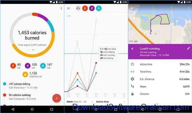 Aplikasi Fitness Gratis Terbaik untuk Android Google Fit