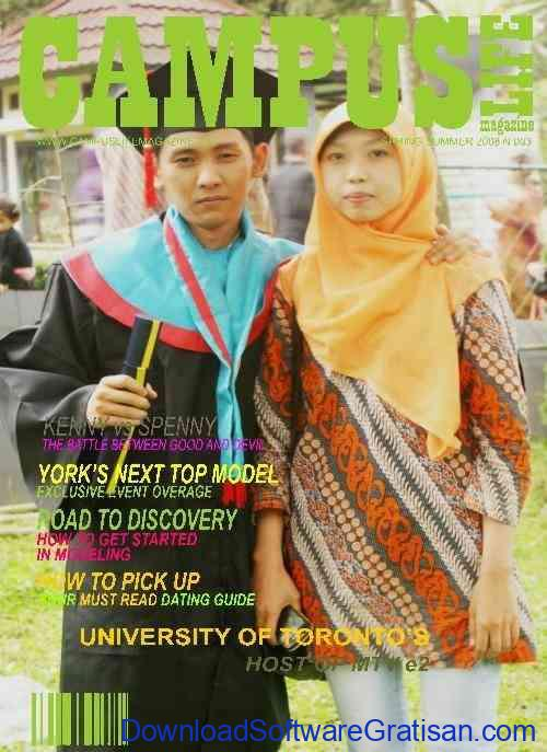 Edit Foto Cover Majalah - My Picture On Magazine