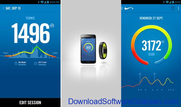 Aplikasi Fitness Gratis Terbaik untuk Android Nike+ FuelBand