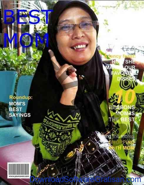 Edit Foto Cover Majalah - Yourcover