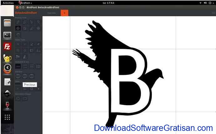 Aplikasi Untuk Membuat Font : BirdFont