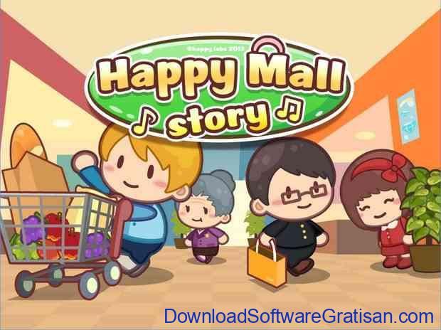 Game Mengelola Mall untuk Android: Happy Mall Story