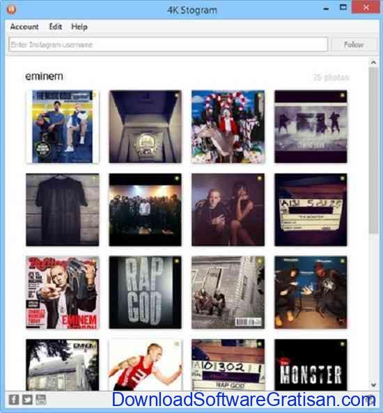 Aplikasi untuk Download Foto & Video Instagram 4k stogram