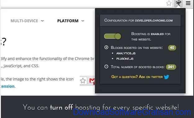 Aplikasi Terbaik untuk Mempercepat Koneksi Internet WebBoost