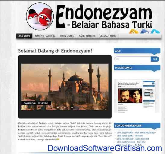 Belajar bahasa turki endonezyam