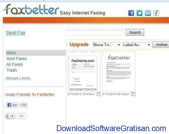 Aplikasi Fax Online Gratis Terbaik FaxBetter