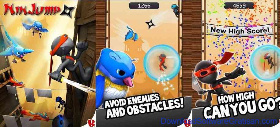 Game Android - NinJump