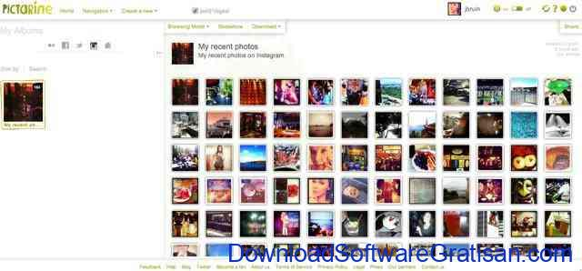 Aplikasi untuk Download Foto & Video Instagram Pictarine