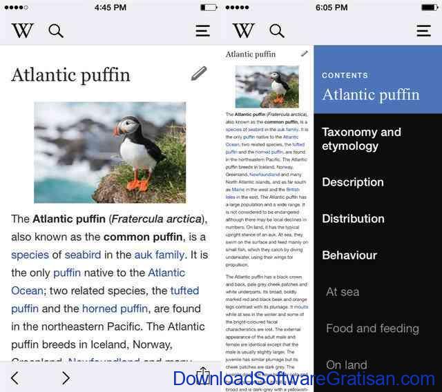 Wikipedia-App-iphone
