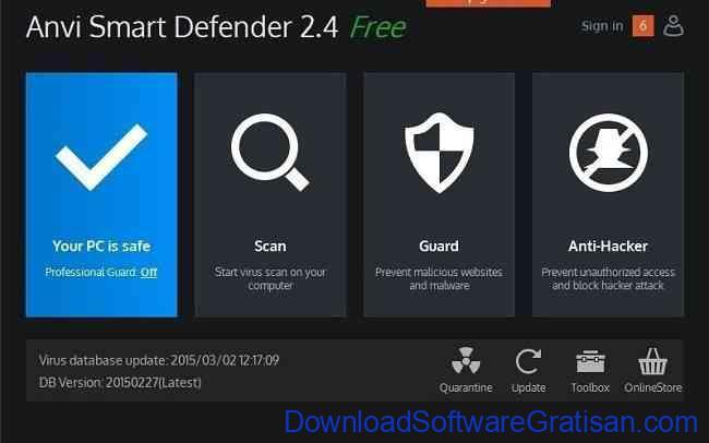 Anti Spyware Gratis Terbaik untuk PC anvi smart defender