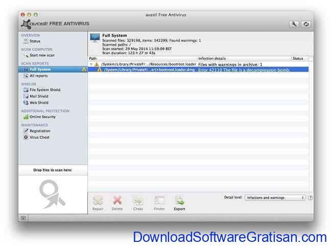 Antivirus Gratis Terbaik untuk Macbook avast