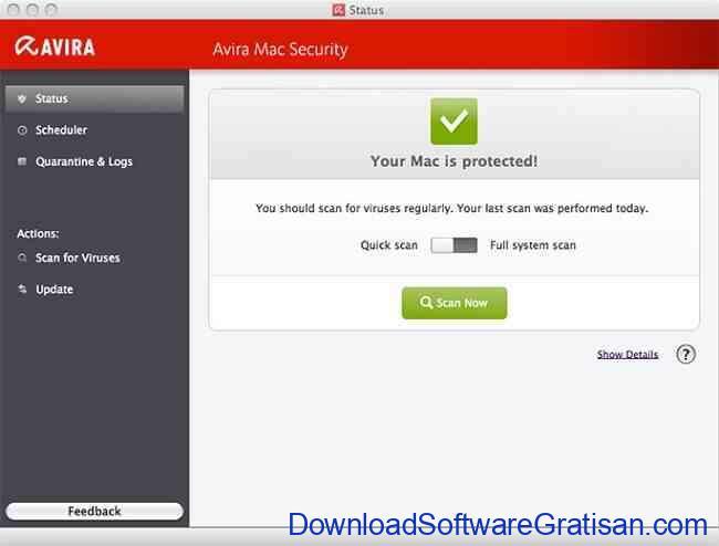 Antivirus Gratis Terbaik untuk Macbook avira