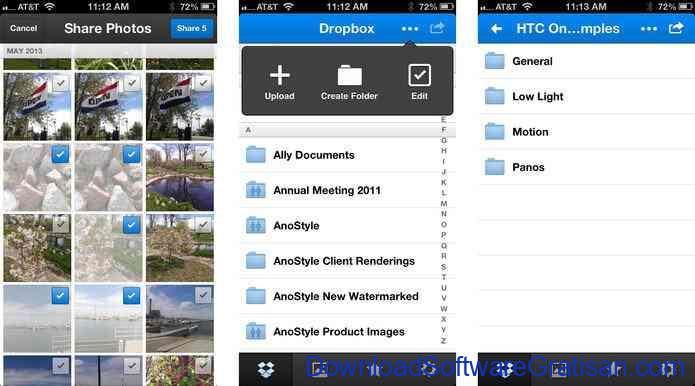 Aplikasi Gratis Android yang Berguna dan Bermanfaat Dropbox