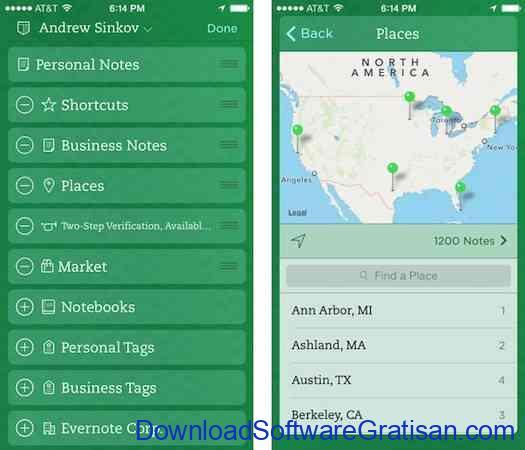 Aplikasi Android Paling Berguna dan Bermanfaat Evernote