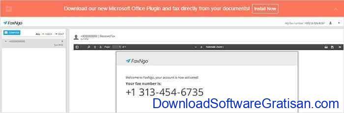 Aplikasi Fax Online Gratis Terbaik faxngo