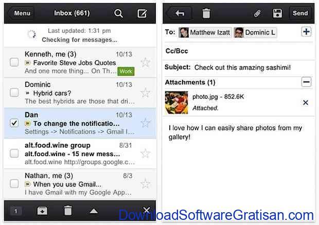 gmail untuk iphone