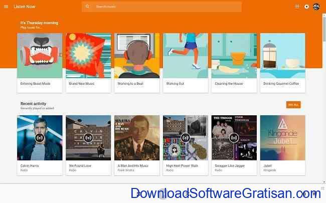 Aplikasi Web Gratis untuk Menggantikan Aplikasi Desktop Kamu google play music