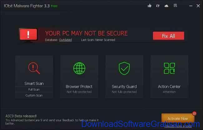 Anti Spyware Gratis Terbaik untuk PC iobit malware fighter