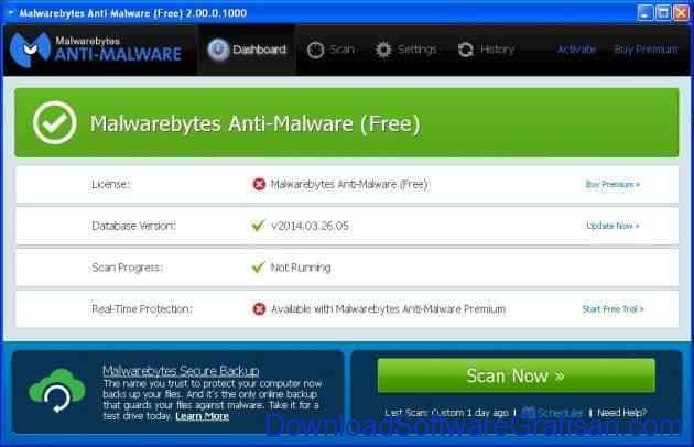Anti Spyware Gratis Terbaik untuk PC malwarebytes anti malware
