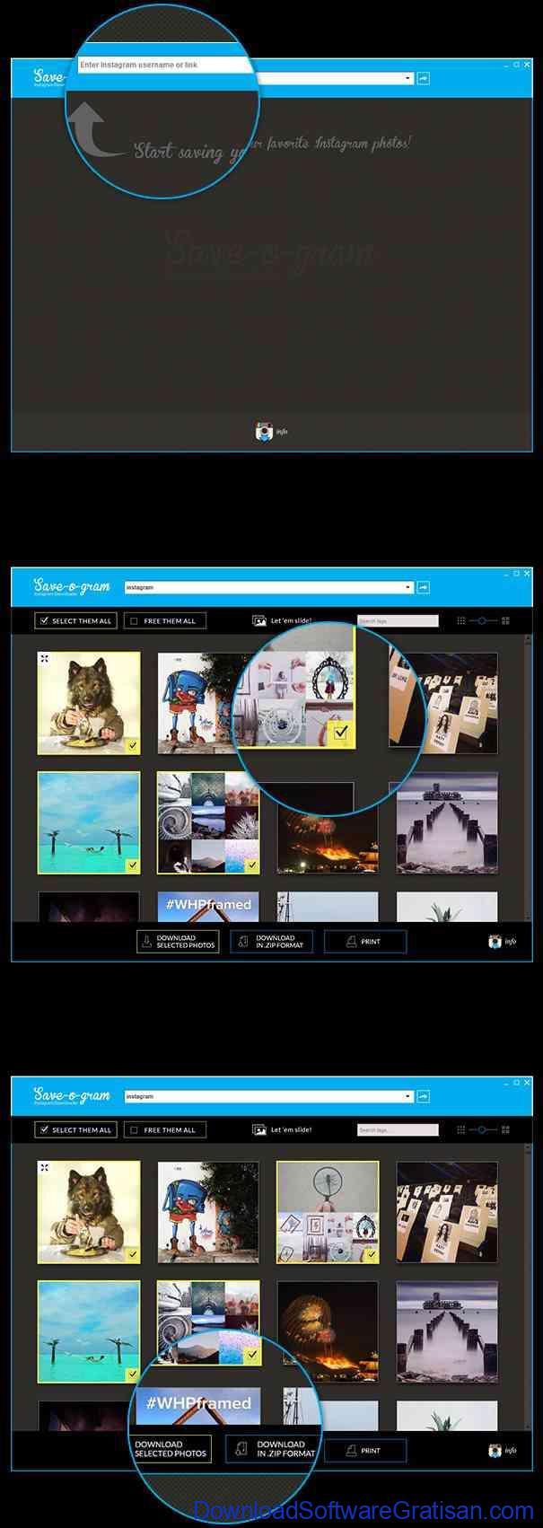 Aplikasi untuk Download Foto & Video Instagram saveogram