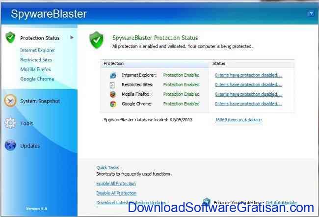 Anti Spyware Gratis Terbaik untuk PC spyware blaster