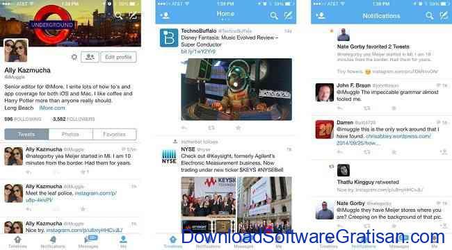 Aplikasi Terbaik yang Wajib Dimiliki Pengguna iPhone twitter iphone
