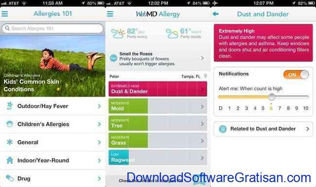 Aplikasi Terbaik yang Wajib Dimiliki Pengguna iPhone webmd iphone
