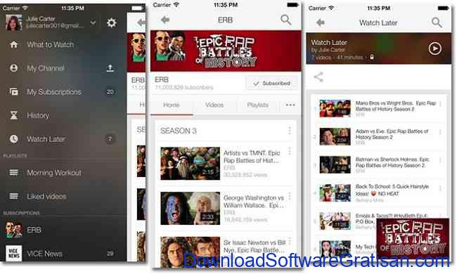 Aplikasi Terbaik yang Wajib Dimiliki Pengguna iPhone youtube app for iphone