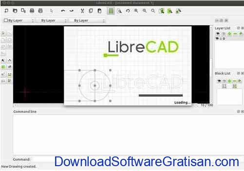 Aplikasi Gambar Teknik Gratis Mirip AutoCAD LibreCAD