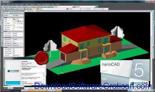 Aplikasi Gambar Teknik Gratis Mirip AutoCAD NanoCAD