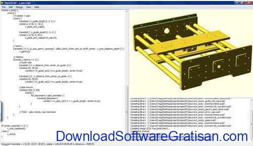 Aplikasi Gambar Teknik Gratis Mirip AutoCAD OpenSCAD