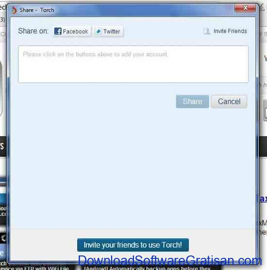 Torch Share Button