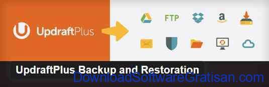 Plugin Backup Gratis Terbaik untuk WordPress UpdraftPlus