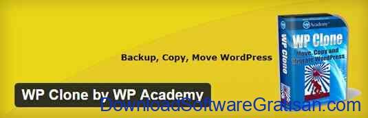 Plugin Backup Gratis Terbaik untuk WordPress WP Clone