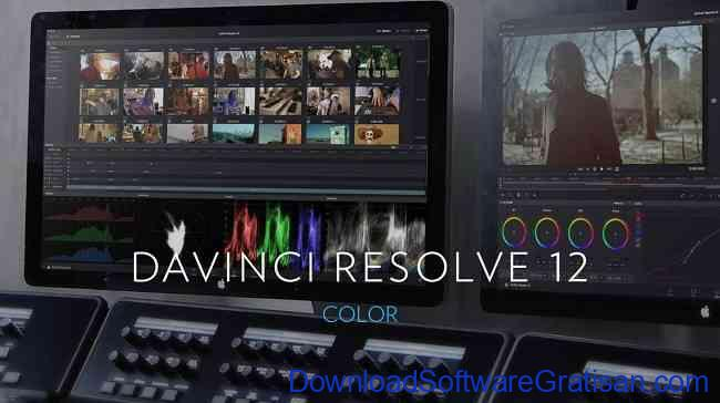 Aplikasi Edit Video PC Windows Gratis Terbaik davinci resolve 12