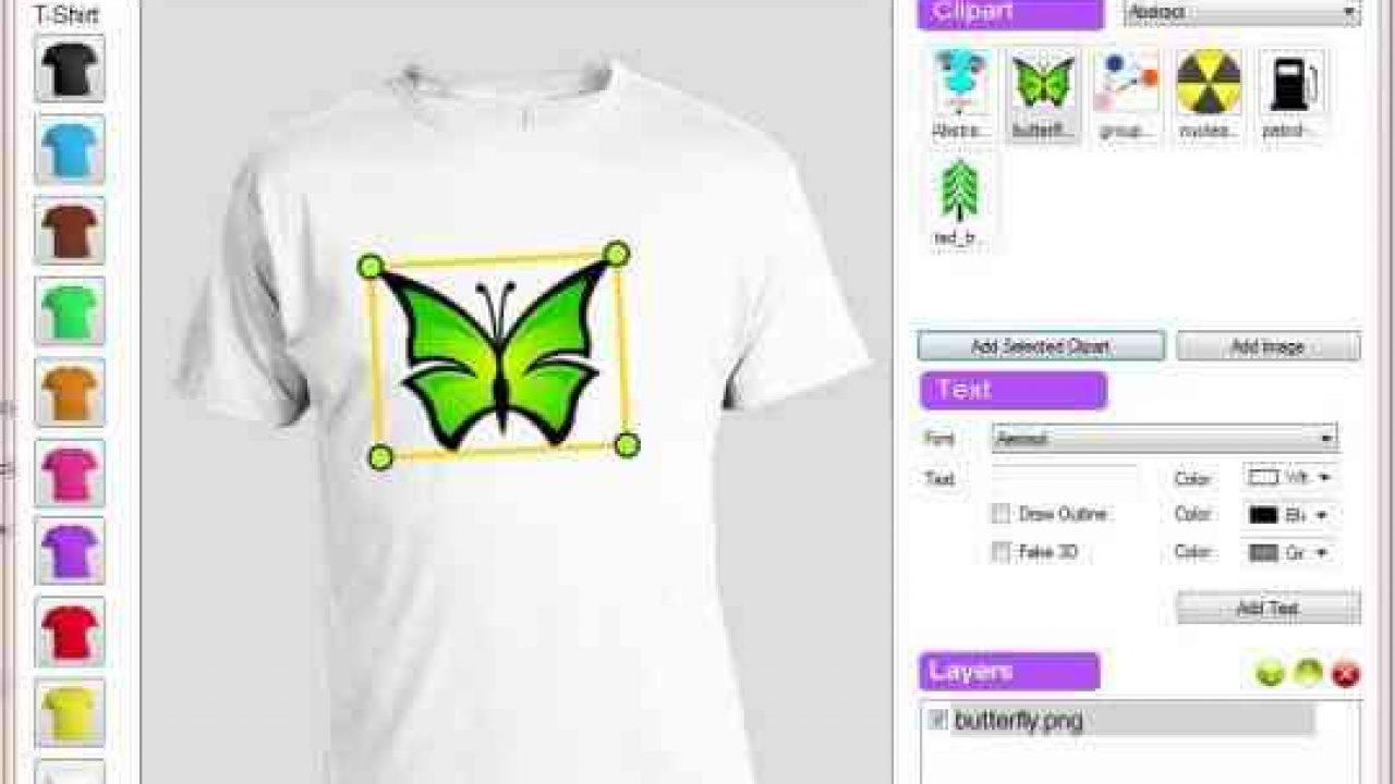 Aplikasi Desain Baju Fline Untuk PC Free TSHIRT Maker 2020