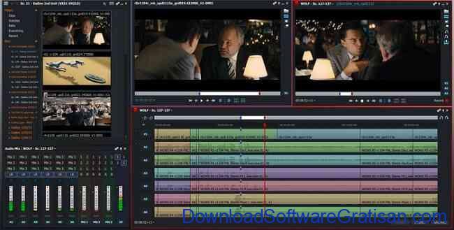 Aplikasi Edit Video PC Windows Gratis Terbaik lightworks